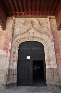 Segovia, Portada principal del Monasterio de San Antonio el Real