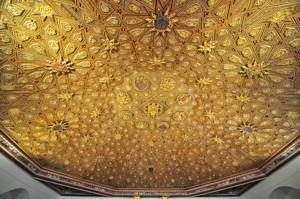Segovia, Techo de la Sala Capitular del Monasterio de San Antonio el Real