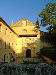 Segovia, Monasterio de Santa Cruz la Real