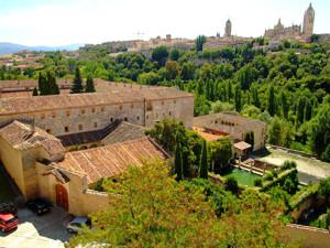 Segovia, Claustros del Monasterio de Santa María del Parral
