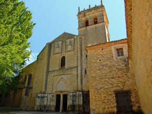 Segovia, Fachada principal del Monasterio de Santa María del Parral