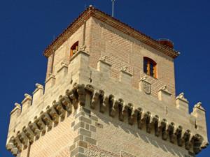 Segovia, Corona almenada de la Torre de Arias Dávila