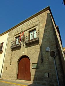 Segovia, Casa hidalga del siglo XVI