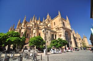 Segovia, Ábside de la Catedral