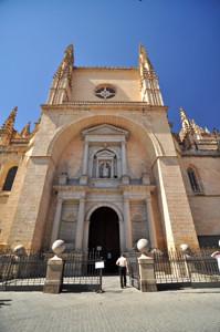 Segovia, Portada de San Frutos