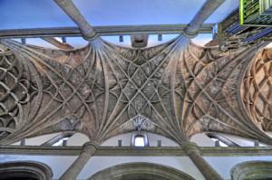 Segovia, Bóvedas nervadas de la Iglesia de San Miguel