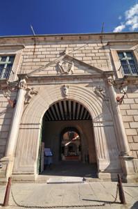 Segovia, Portada principal del Palacio Episcopal