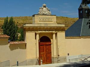 Segovia, Portada principal del Real Ingenio de la Moneda
