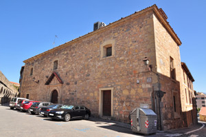 Segovia, Antigua Iglesia del Convento de la Concepción Francisca, fachadas Norte y Este