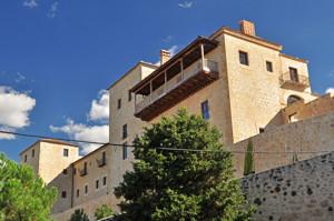 Segovia, Fachada Norte del antiguo Convento de las Oblatas