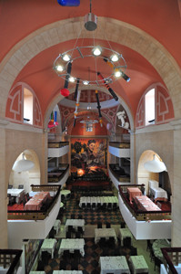 Segovia, Interior del antiguo Convento de los Mínimos de la Victoria