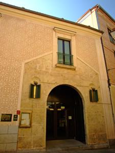 Segovia, Entrada al antiguo Convento de los Mínimos de la Victoria