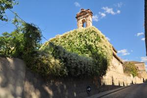 Segovia, Ruinas de la Capilla del antiguo Hospital de Convalecientes