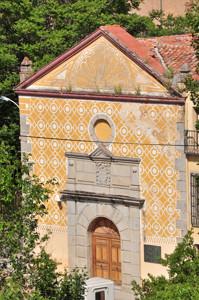Segovia, Portada del antiguo Hospital de Sancti Spiritu