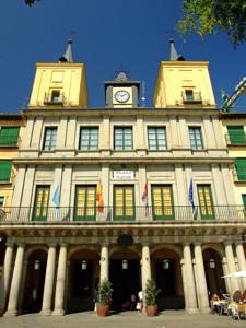 Segovia, Ayuntamiento