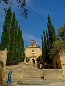 Segovia, Subida hasta la Iglesia del Convento de Carmelitas Descalzos