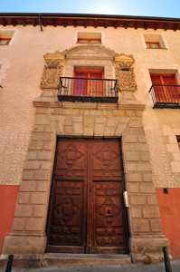Segovia, Portada principal del Palacio de los Aguilar o de los Conde de Encina