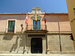 Segovia, Portada principal del Palacio delos Uceda-Peralta