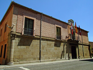 Segovia, Palacio delos Uceda-Peralta