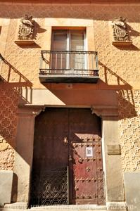 Segovia, Portada del Palacio del Marquesado de Lozoya