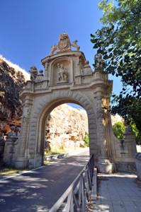 Segovia, Cara exterior de la Puerta de la Fuencisla
