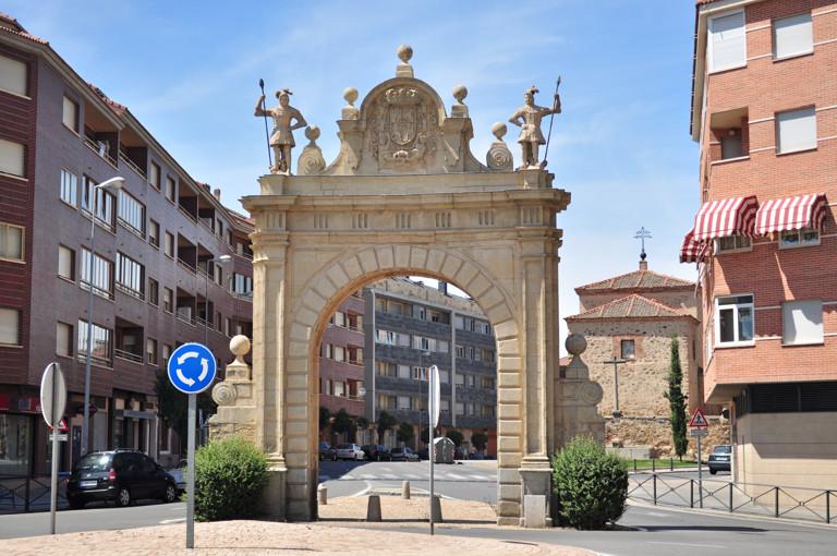 Segovia viii siglo xviii la recuperaci n de la - Puerta de segovia ...