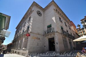 Segovia, Sede Central de la Caja de Ahorros y Monte de Piedad de Segovia