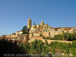 Segovia, Segovia desde el Pinarillo