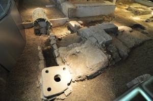 Antiquarium de Sevilla, Callejón Occidental
