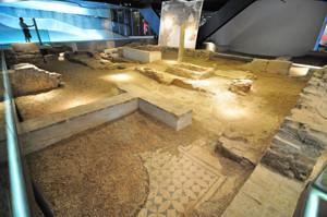 Antiquarium de Sevilla, Casa de la Ninfa