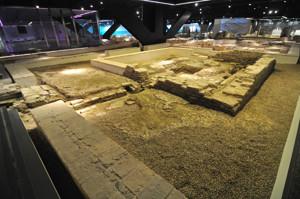 Antiquarium de Sevilla, Patio de la Casa del Sigma