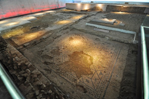 Antiquarium de Sevilla, Hospitium de los Delfines