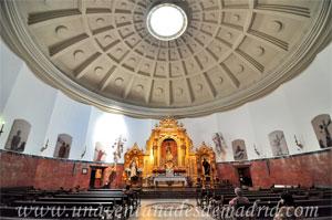 Sevilla, Cúpula circular y nave única de la Basílica Menor de Nuestro Padre Jesús del Gran Poder