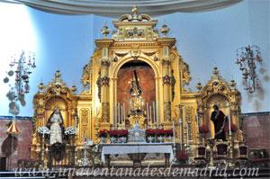 Sevilla, Retablo Mayor de la Basílica Menor de Nuestro Padre Jesús del Gran Poder