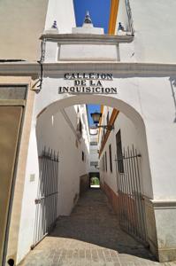 Castillo de San Jorge, Callejón de la Inquisición