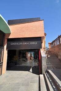 Entrada al Castillo de San Jorge