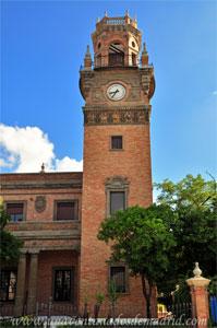 Sevilla, Exposición Iberoamericana de 1929, Torre del Pabellón del Ministerio de Marina