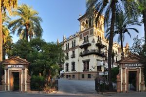 Sevilla, Exposición Iberoamericana de 1929, Hotel Alfonso XIII