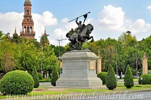 Sevilla, Exposición Iberoamericana de 1929, Monumento al Cid Campeador