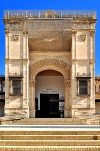 Sevilla, Exposición Iberoamericana de 1929, Entrada monumental del Pabellón de Bellas Artes