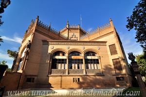 Sevilla, Exposición Iberoamericana de 1929, Lateral Sur del Pabellón Real