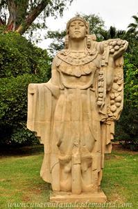 Sevilla, Parque de María Luisa - Jardines de las Delicias, Alegoría de Iberia