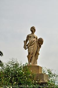 Sevilla, Parque de María Luisa - Jardines de las Delicias, Diosa Urania