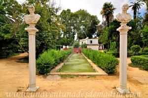 Sevilla, Parque de María Luisa - Jardines de las Delicias, Estanque