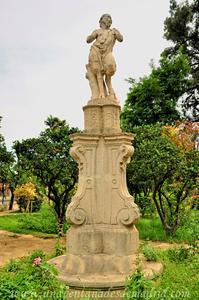 Sevilla, Parque de María Luisa - Jardines de las Delicias, Monumento a Pan