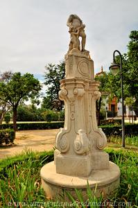 Sevilla, Parque de María Luisa - Jardines de las Delicias, Monumento a Venus