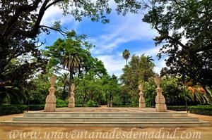 Sevilla, Parque de María Luisa - Jardines de las Delicias, Salón Alto