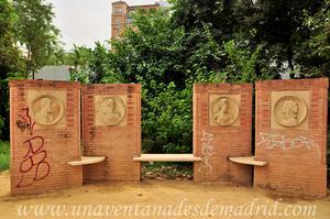 Sevilla, Parque de María Luisa - Jardines de las Delicias, Tondos