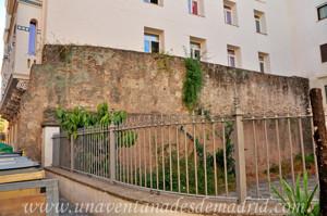 Murallas de Sevilla, Muralla de la Calle San Gregorio