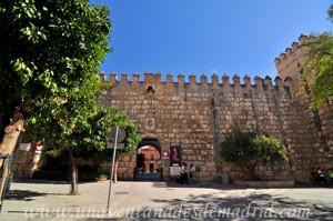 Murallas de Sevilla, Reales Alcázares, Puerta del Patio de Banderas